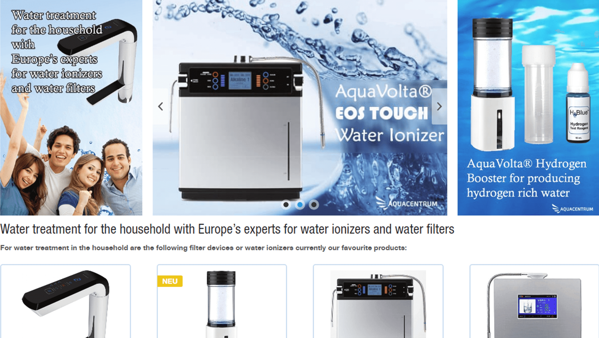 Brandcrock-Aquacentrum_BrandCrock-portfolio-water ionizers & filter