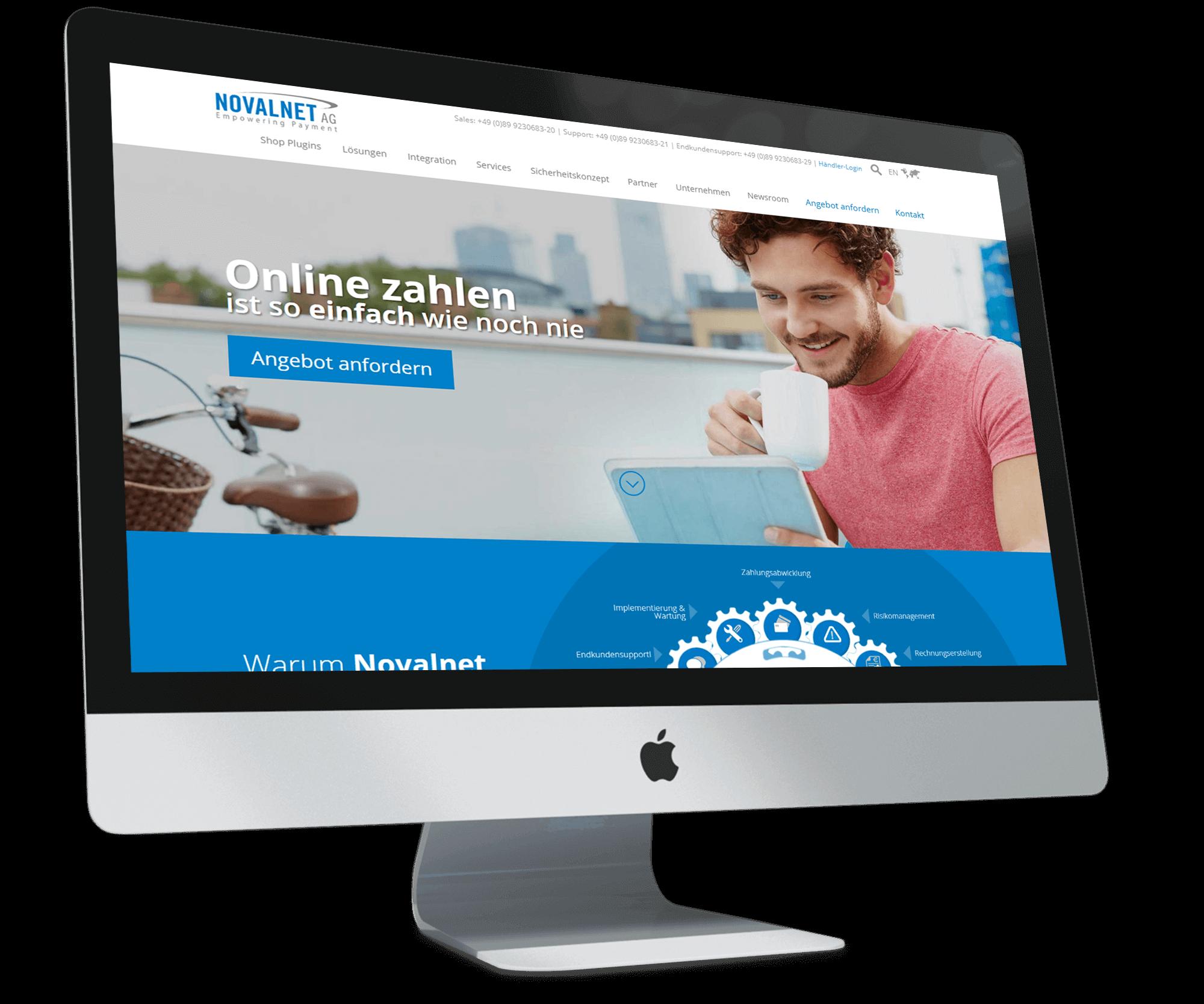 Novalnet_BrandCrock-portfolio-home-imac