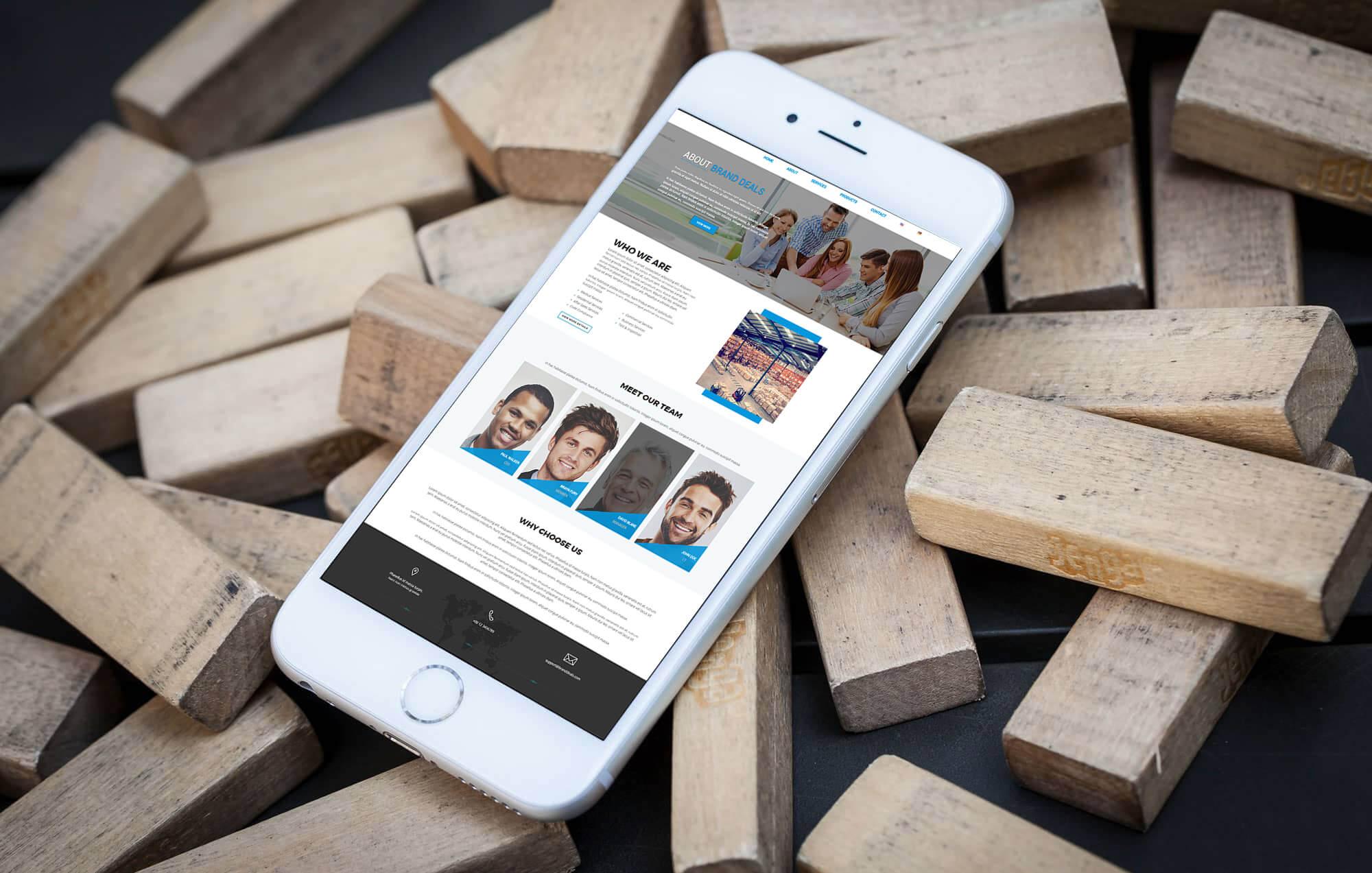 Brandcrock-BrandDeals-BrandCrock-portfolio-our team-iphone