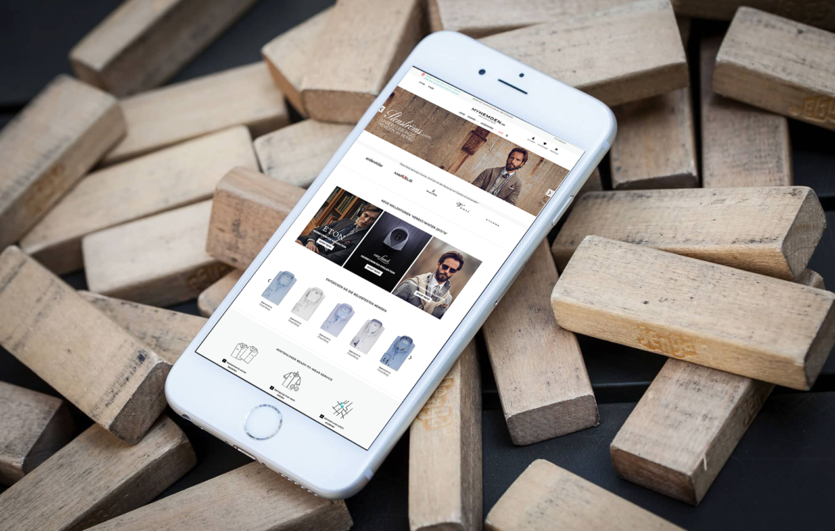 Brandcrock-myhemden iphone view