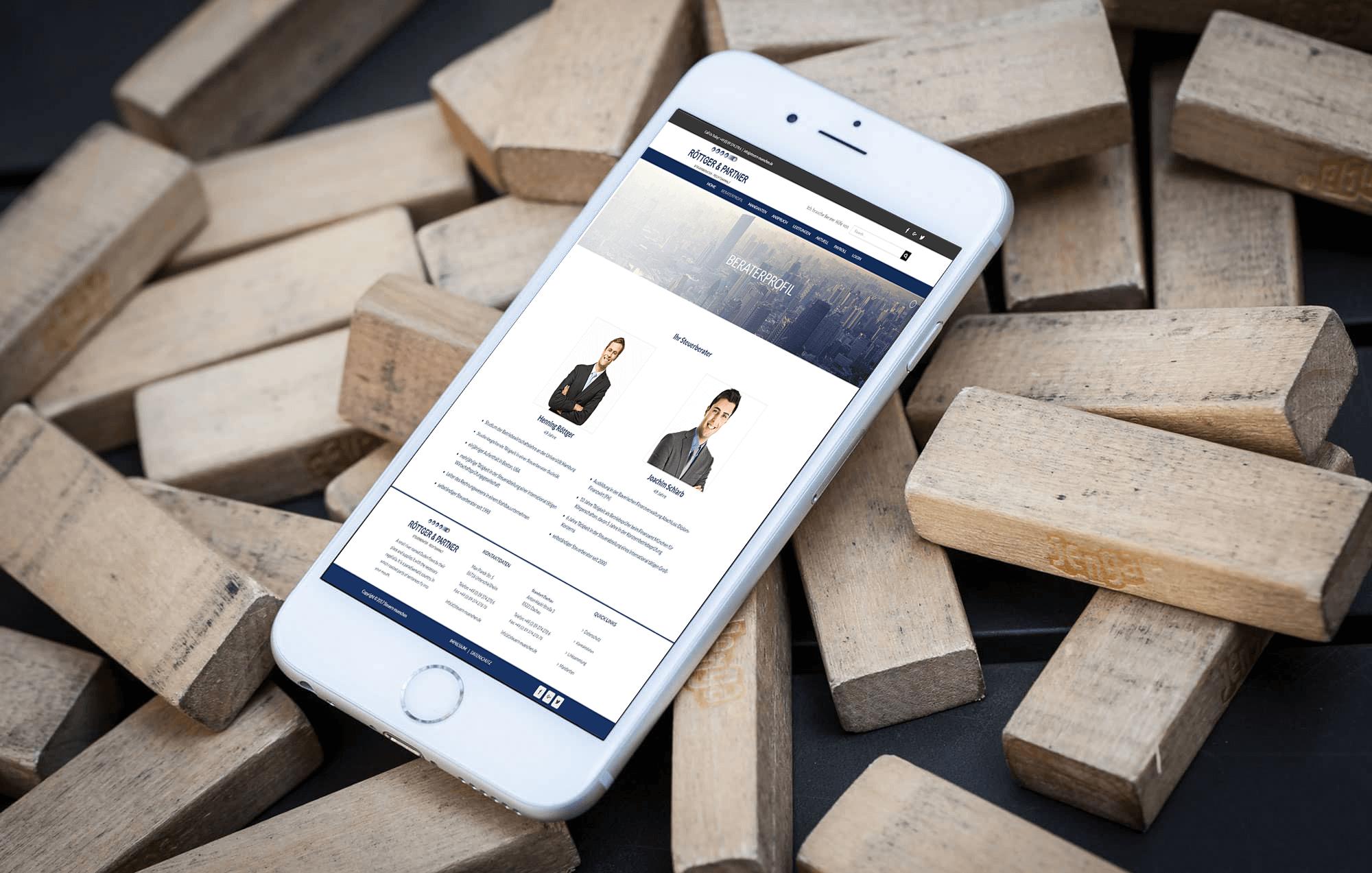 Rottger Partner-BrandCrock-portfolio-consultant profile-iphone