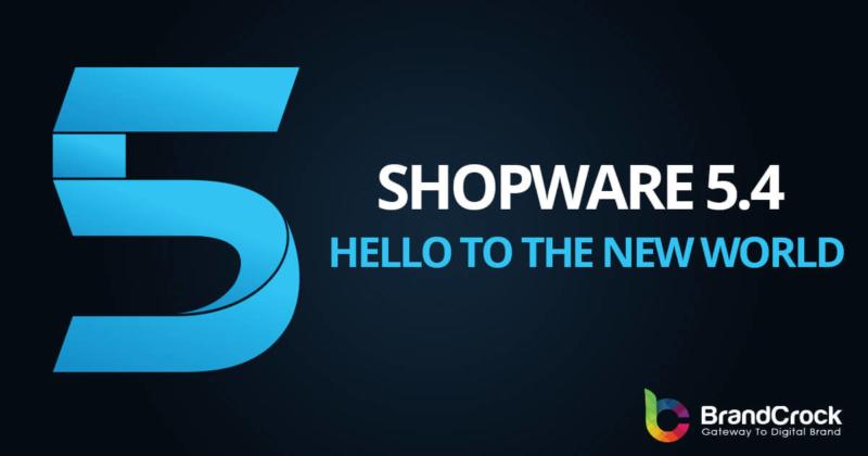 Shopware 5.4 Development