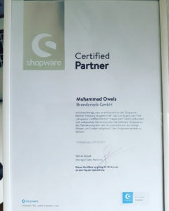 brandcrock Shopware Certified Partner