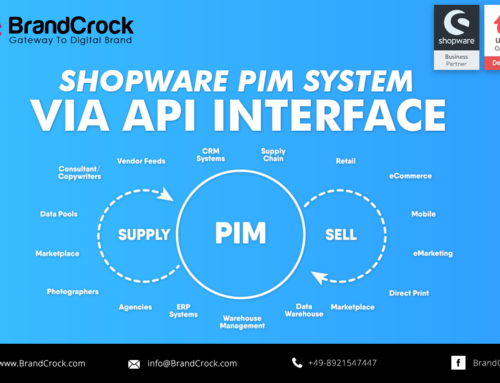 Shopware a un sistema PIM a través de la interfaz API