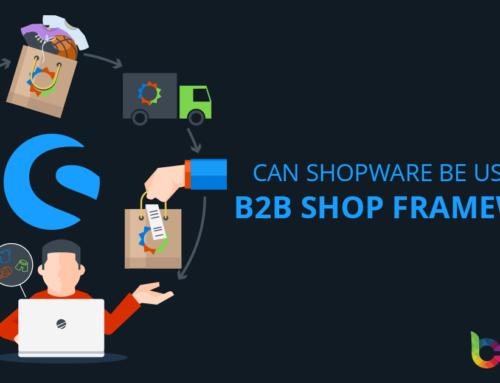 Can Shopware be used as a B2B shop framework?