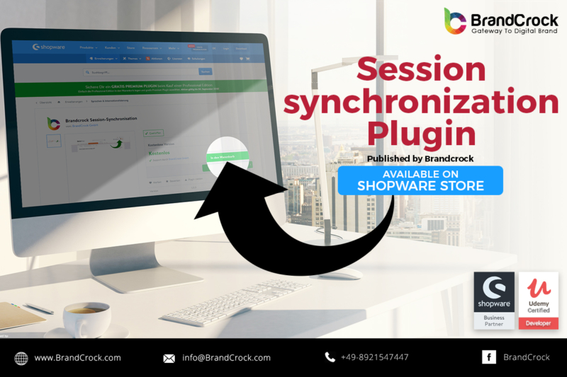 Shopware plugin Session Synchronisation