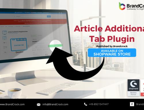 Shopware Plugin Article Additional tab