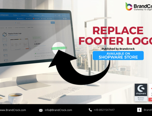 Shopware Plugin Replace Footer logo