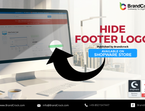 Shopware Plugin Hide Footer Logo