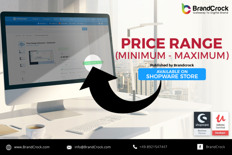 Shopware Plugin Shopware Plugin Fourchette de prix