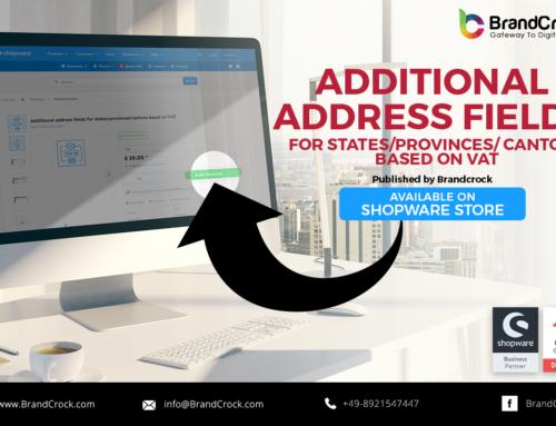 Shopware Plugin Zusätzliches Adressfeld basierend auf der Mehrwertsteuer